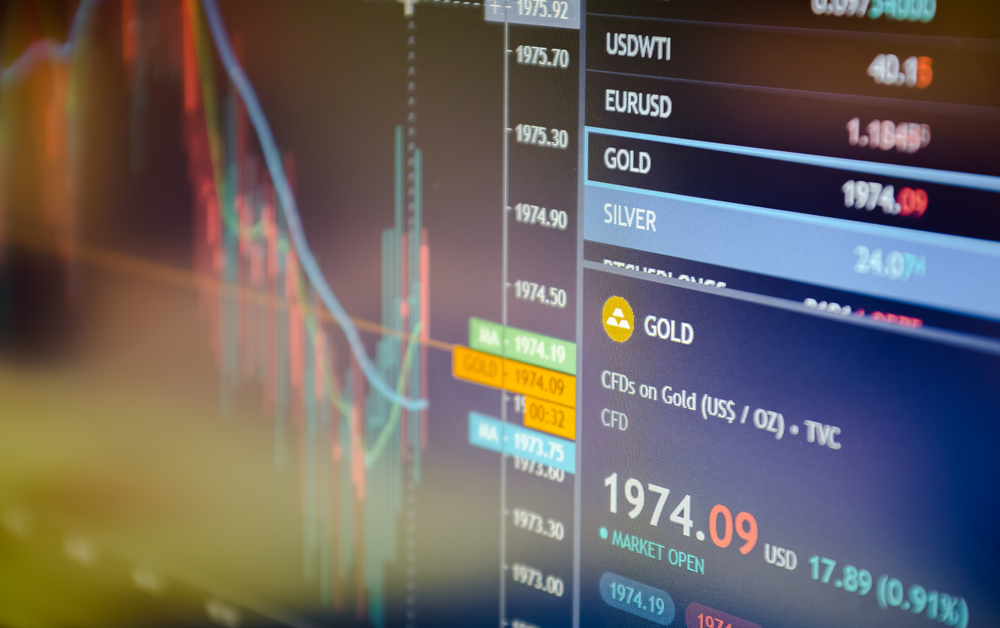 Trade in precious metals on the stock exchange