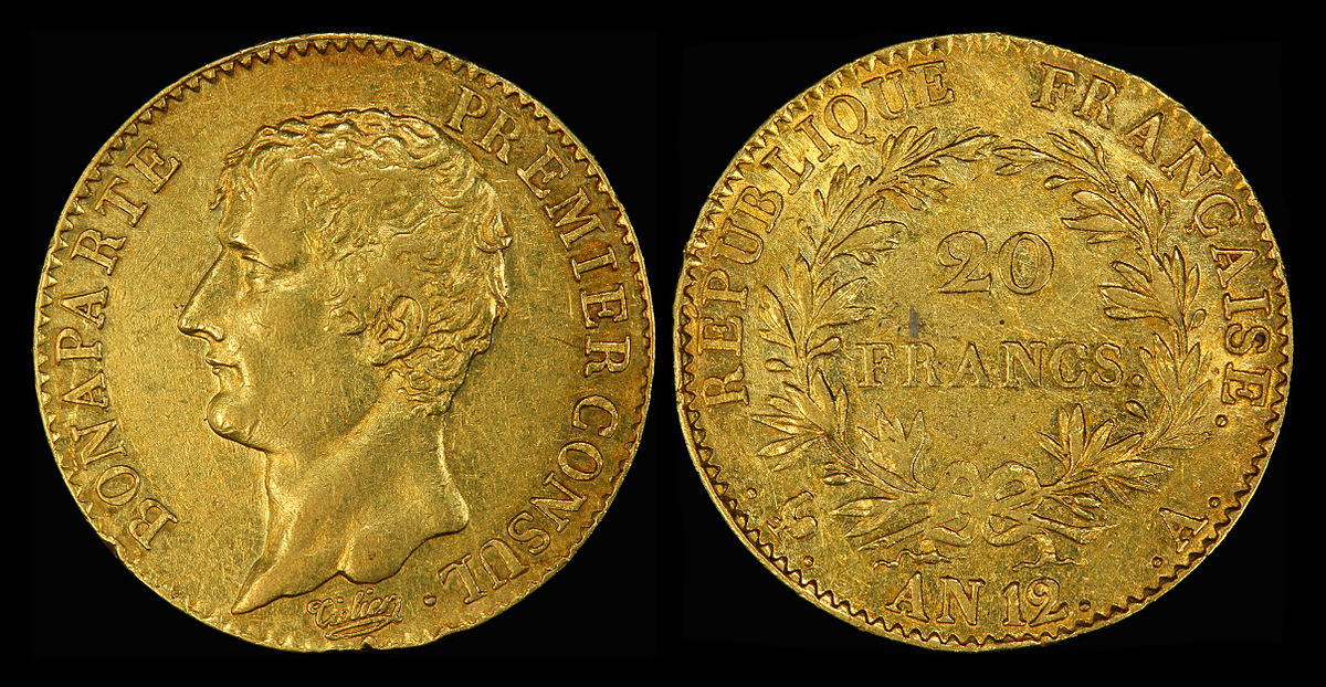 French 20 Franc Gold Coins