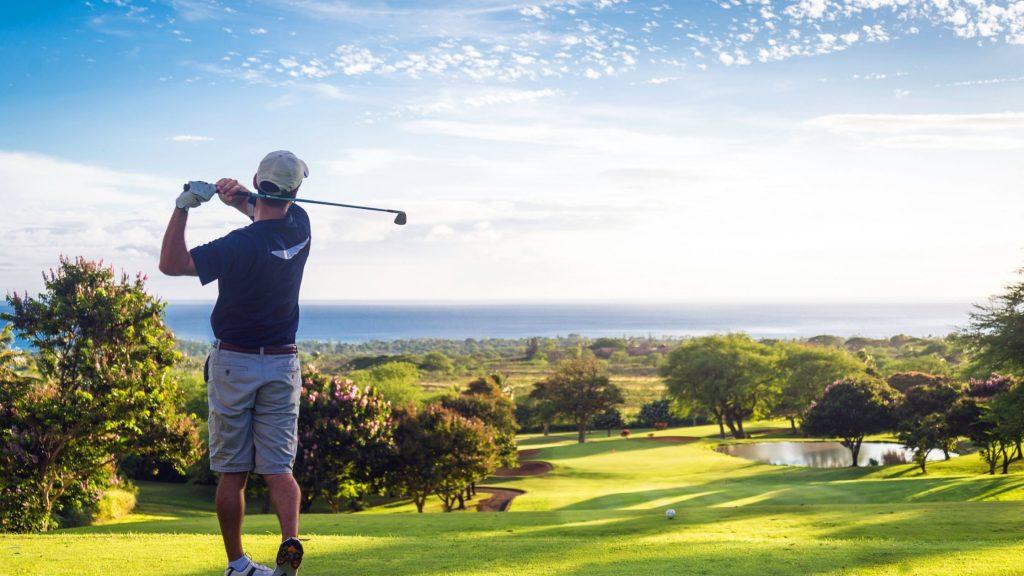 golfing in retirement